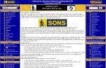 Obrázek webu SONS