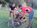 Mládež na kudlovské zahradě