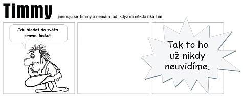 Timmy jde do světa