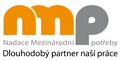 Logo Nadace mezinárodní potřeby