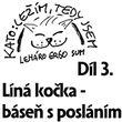 3) Líná kočka - báseň s posláním